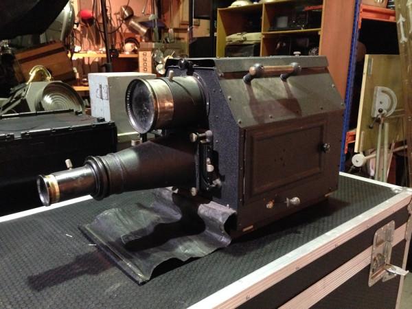 3: Vintage projector