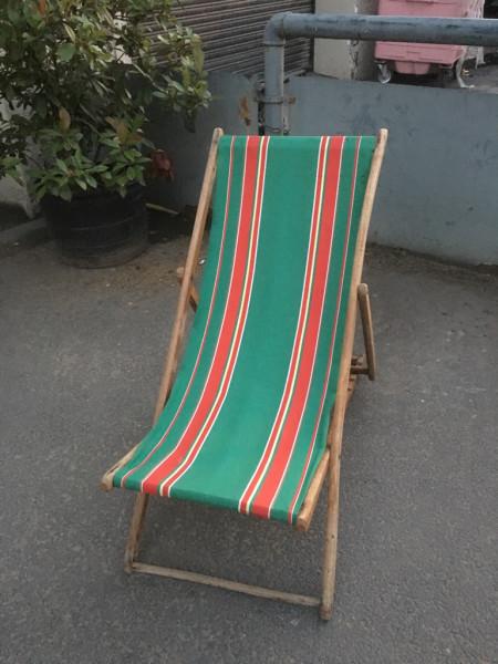 6: Vintage Deckchairs - QTY 20