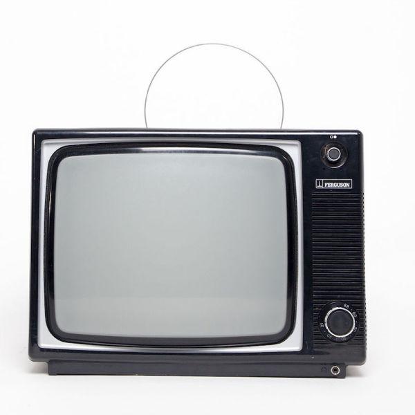 1: Fully working black & white 1970's Ferguson TV