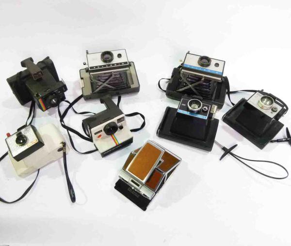 1: Retro Polaroid Cameras