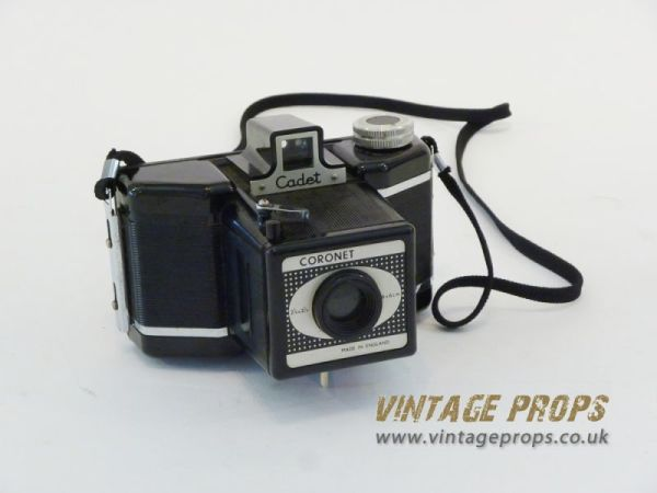 2: Coronet 'Cadet' vintage camera