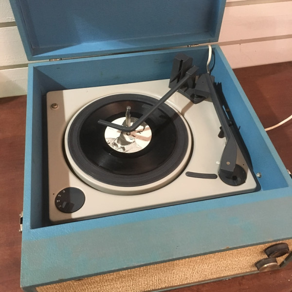 3: Vintage record player