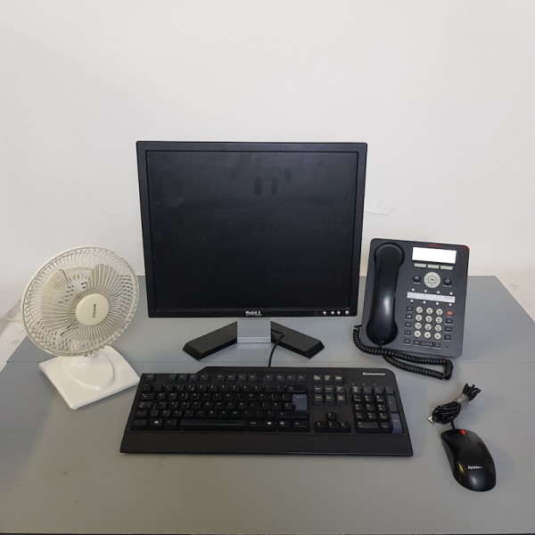 2: Office desktop setup