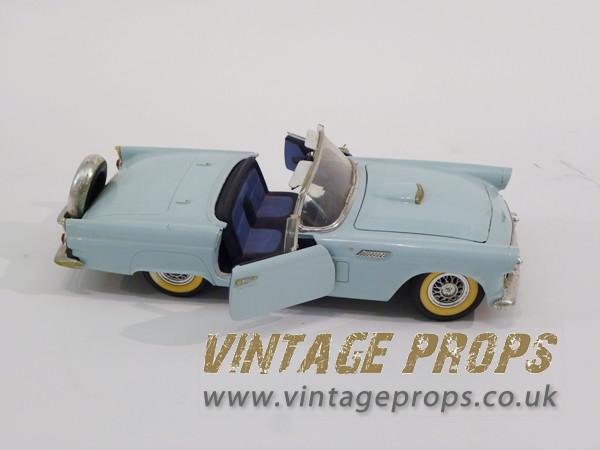 1: Vintage 1950's toy car
