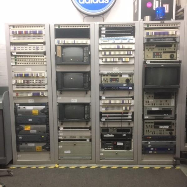 2: Computer server racks & electronic equipment