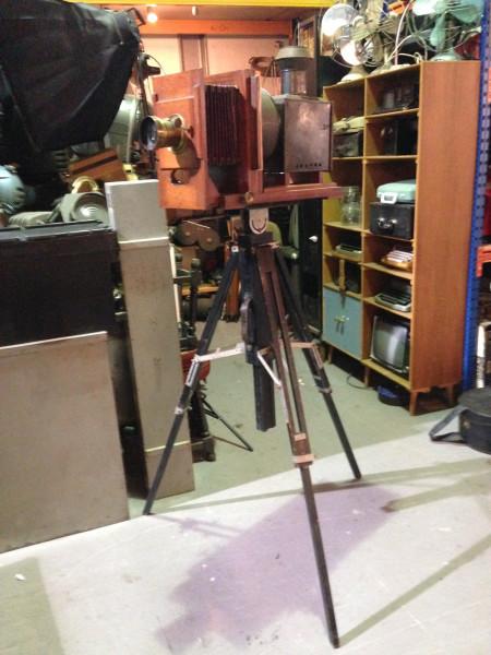 4: Vintage plate camera / projector