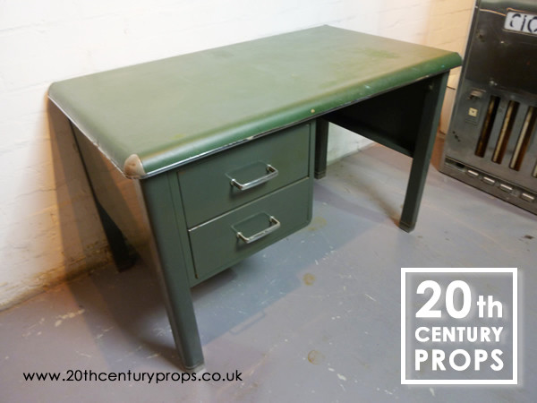 2: 1950's Industrial desk