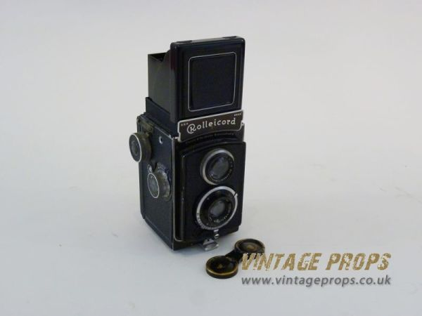 1: Rolleicord vintage camera