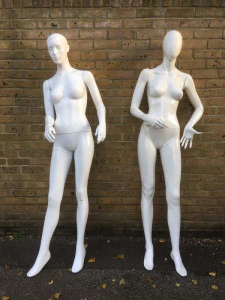 1: Female Mannequins