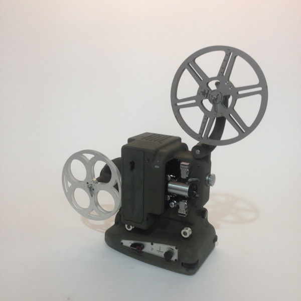 2: Dark Grey Bolex 8mm Film Projector