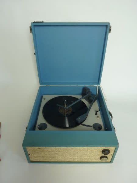 4: Vintage record player