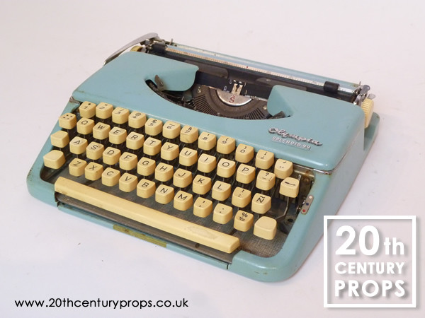 1: Vintage OLYMPIA typewriter