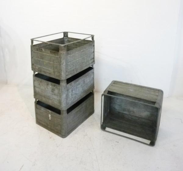 4: Metal Stacking Crates