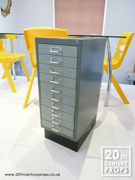 1: Office filing cabinet