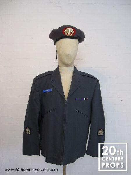 1: Vintage RAF jacket & beret