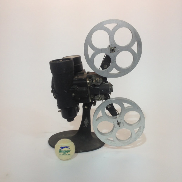1: Black Vintage Bell & Howell 16mm Film Projector