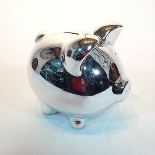 1: Silver Piggy Bank