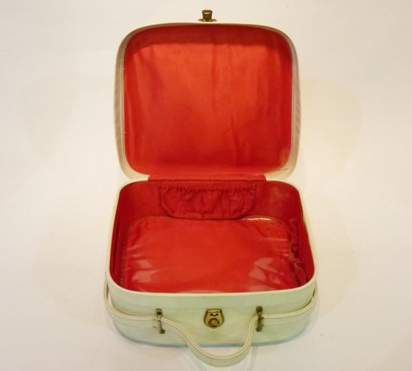2: Small White Vanity Case