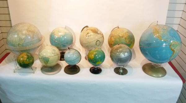 4: Vintage Globes