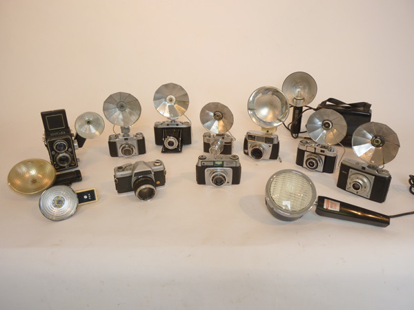 1: Vintage cameras