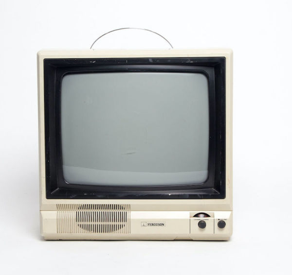 1: Non practical portable Ferguson 38050 TV