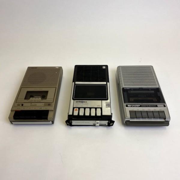 2: Sharp cassette recorder - non working