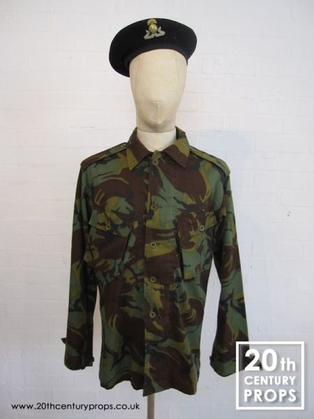 1: Vintage Army shirt and beret