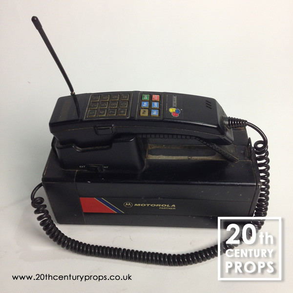 1: 1980's Motorola 4500x mobile phone