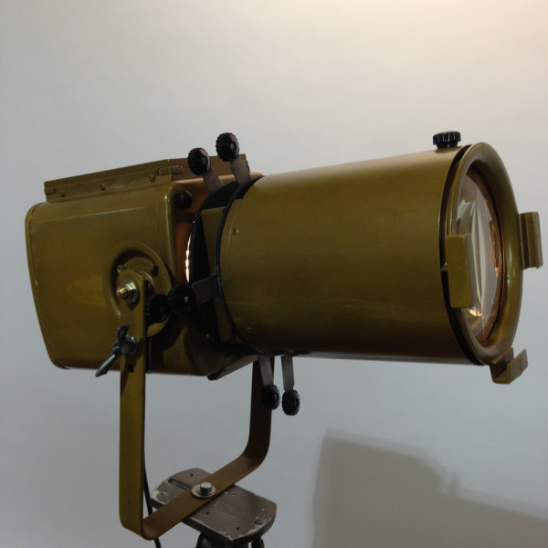 3: Vintage Industrial 'Strand Electric' Spotlight