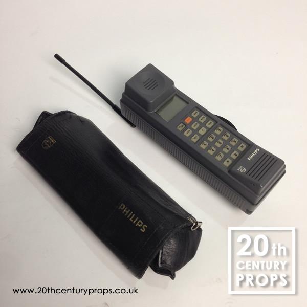 2: 1980's retro Philips portable cellular phone