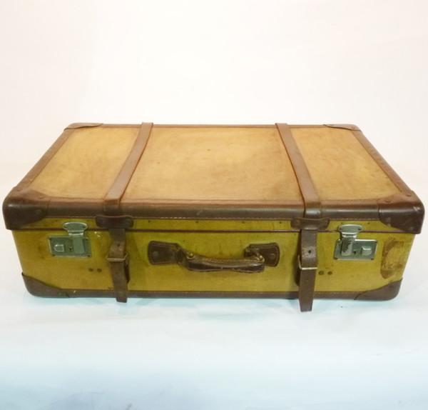 1: Large Yellow Suitcase