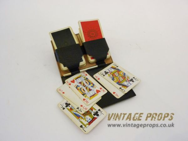 1: Vintage playing cards