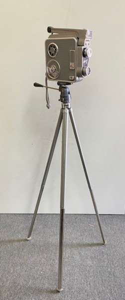 3: Vintage 8mm movie camera