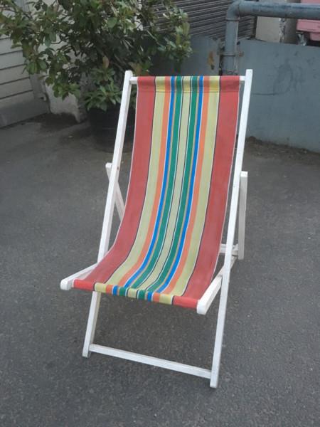 14: Vintage Deckchairs - QTY 20