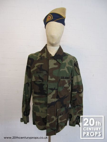 1: US Army jacket and beret