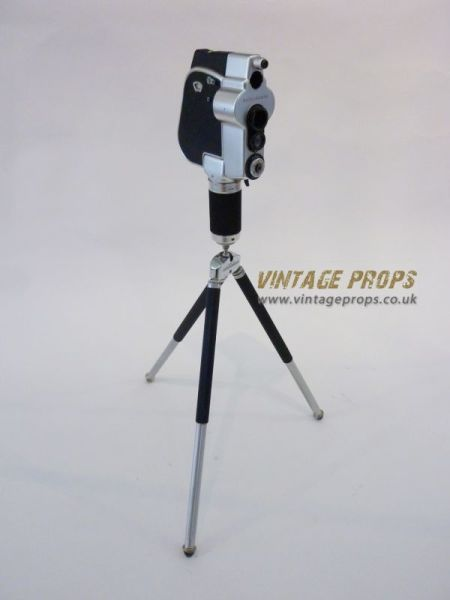 1: Vintage movie camera
