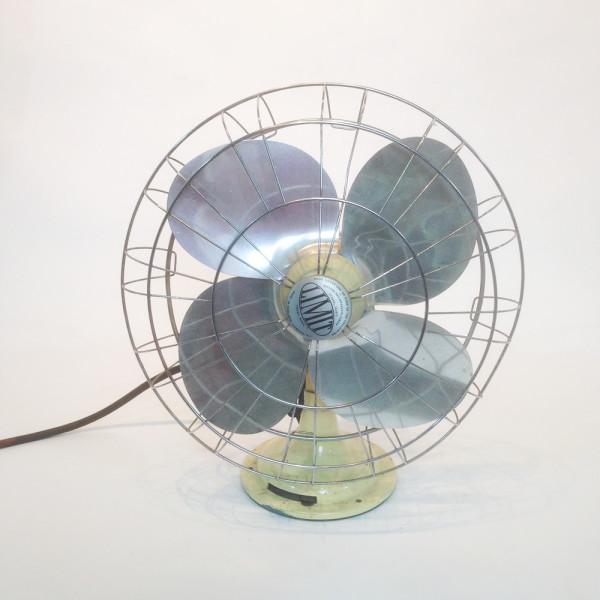 2: Large industrial desk fan - Cream