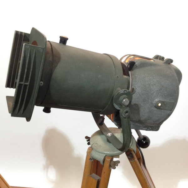 4: Vintage Industrial Spotlight with Long Lenses