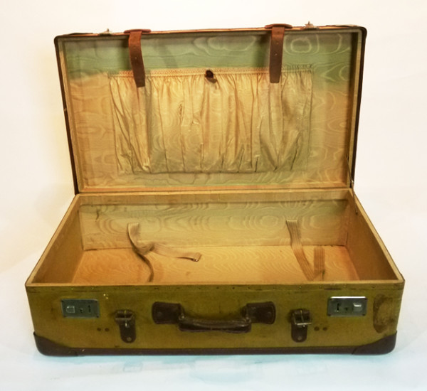 4: Large Yellow Suitcase