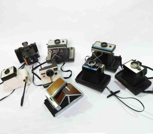 3: Retro Polaroid Cameras
