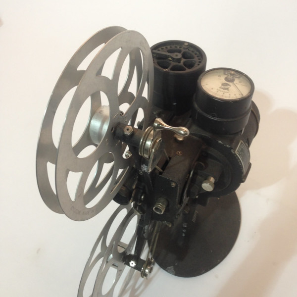 3: Black Vintage Bell & Howell 16mm Film Projector