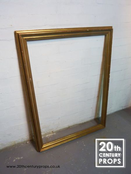 1: Large gilded picture frame