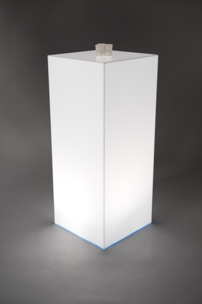 3: Light Box Opal Plinth