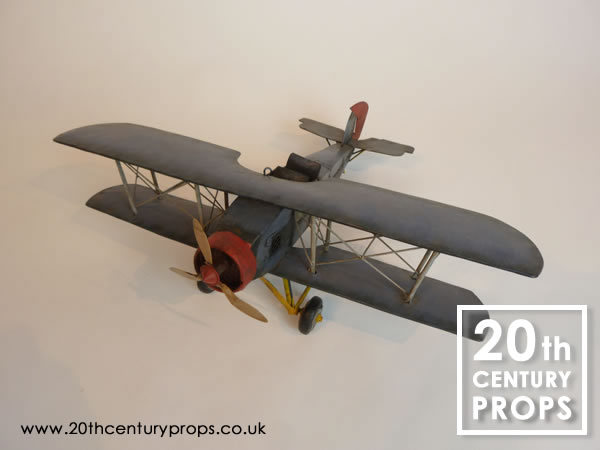 2: Toy tin aeroplane