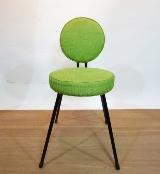 2: Lime Green 1960's Retro Chair