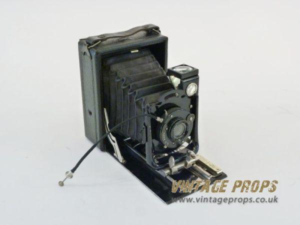 2: Vintage folding camera