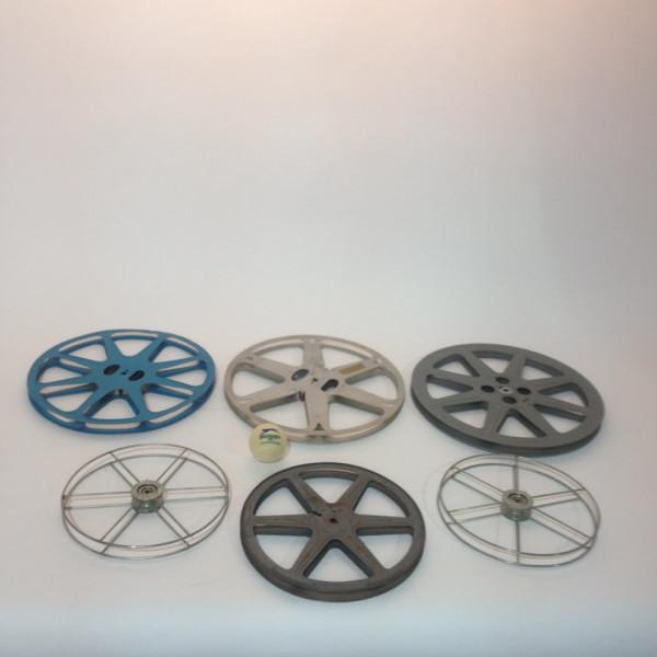 3: Medium 8mm and 16mm Film Reels