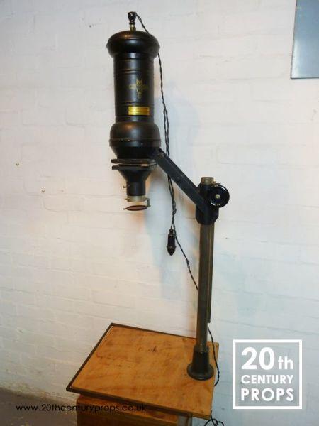 2: Vintage projector lamp