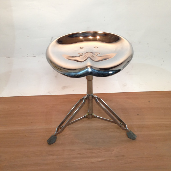 2: Metal Drum Stool