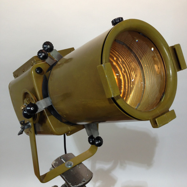 6: Vintage Industrial 'Strand Electric' Spotlight